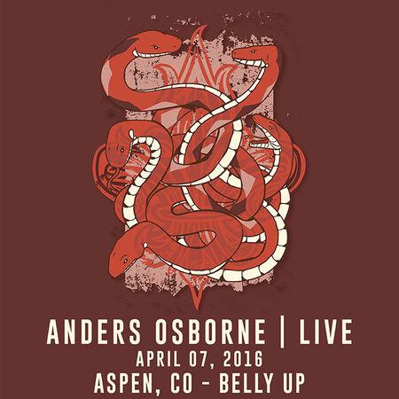 04/07/16 Belly Up, Aspen, CO