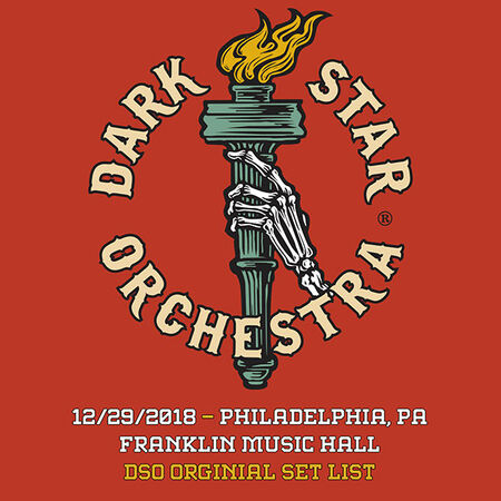 12/29/18 Franklin Music Hall, Philadelphia, PA