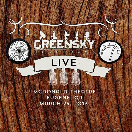 03/29/17 McDonald Theatre, Eugene, OR