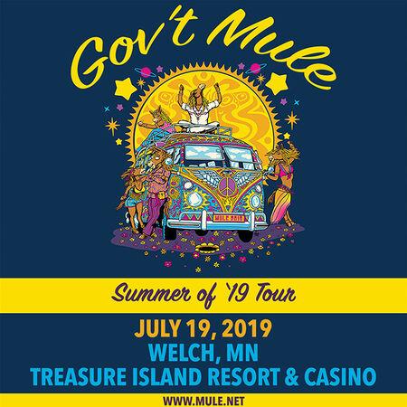 07/19/19 Treasure Island Resort & Casino, Welch, MN