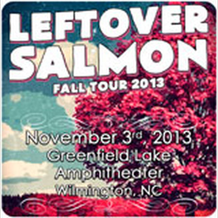 11/03/13 Greenfield Lake Amphitheater, Wilmington, NC