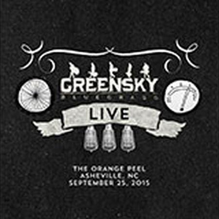 09/25/15 The Orange Peel, Asheville, NC