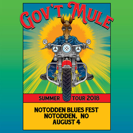 08/04/18 Notodden Blues Festival, Notodden, NL