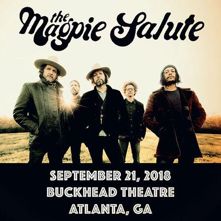 09/21/18 Buckhead Theatre, Atlanta, GA