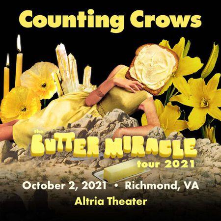 10/02/21 Altria Theater, Richmond, VA