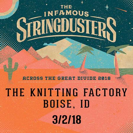 03/02/18 Knitting Factory, Boise, ID