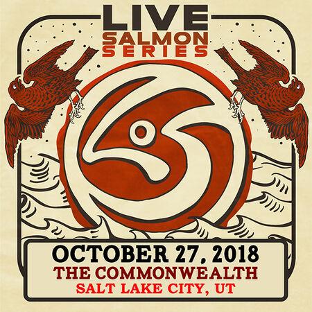 10/27/18 The Commonwealth Room, Salt Lake City, UT