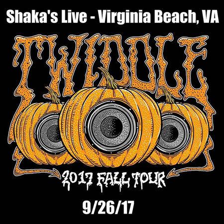 09/26/17 Shaka's Live, Virginia Beach, VA