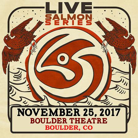 11/25/17 Boulder Theater, Boulder, CO