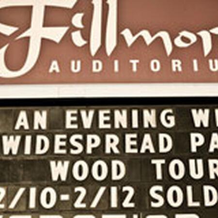 02/12/12 The Fillmore Auditorium, Denver, CO