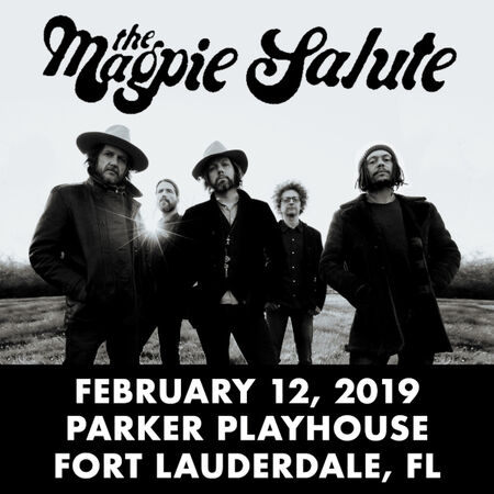 02/12/19 Parker Playhouse, Fort Lauderdale, FL