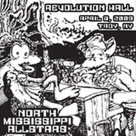 04/08/09 Revolution Hall, Troy, NY