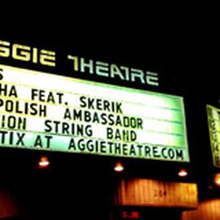 04/03/13 Aggie Theatre, Fort Collins, CO