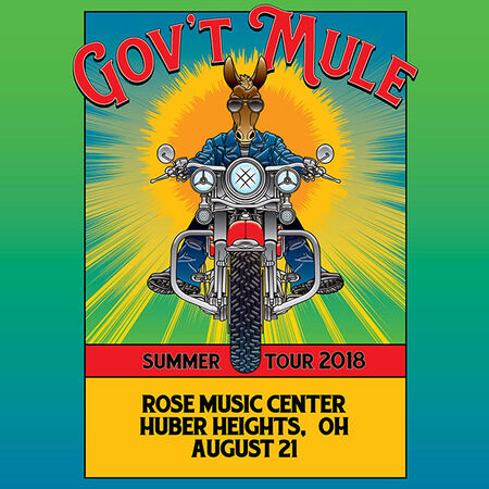 08/21/18 Rose Music Center, Huber Heights, OH