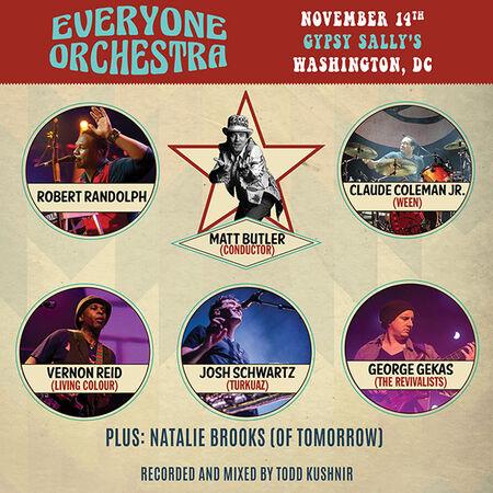 11/14/19 Gypsy Sally's, Washington, D.C.