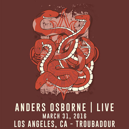 03/31/16 The Troubadour, Los Angeles, CA