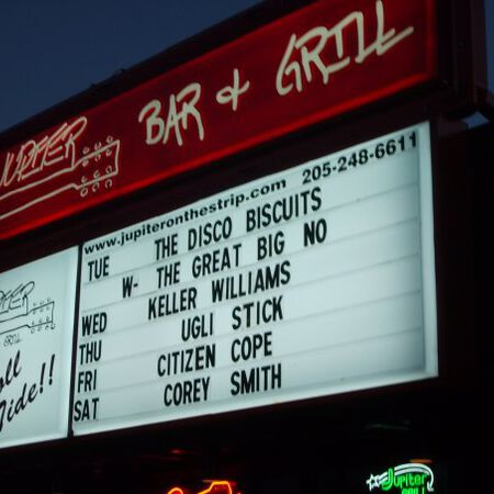 02/03/09 Jupiter Bar and Grill, Tuscaloosa, AL