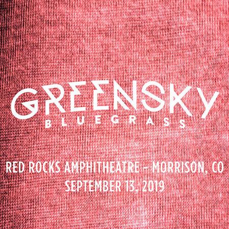 09/13/19 Red Rocks Amphitheatre, Morrison, CO