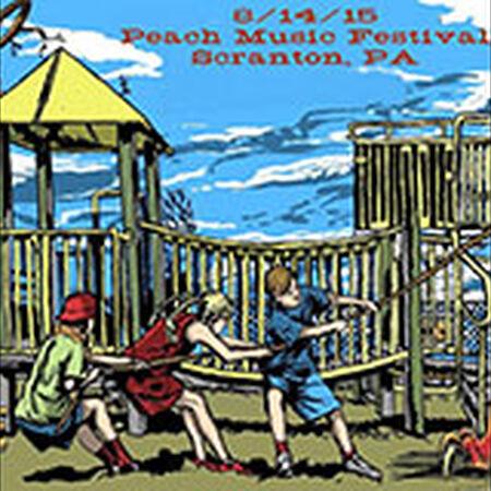 08/14/15 The Peach Music Festival, Scranton, PA