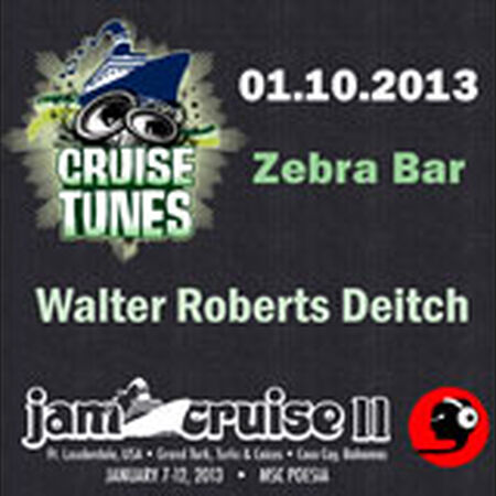 01/10/13 Zebra Bar, Jam Cruise, US