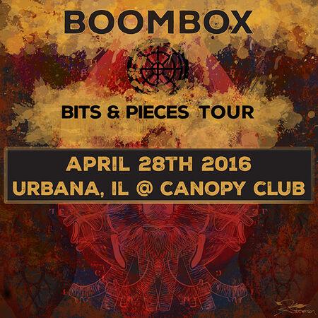 04/28/16 Canopy Club, Urbana, IL