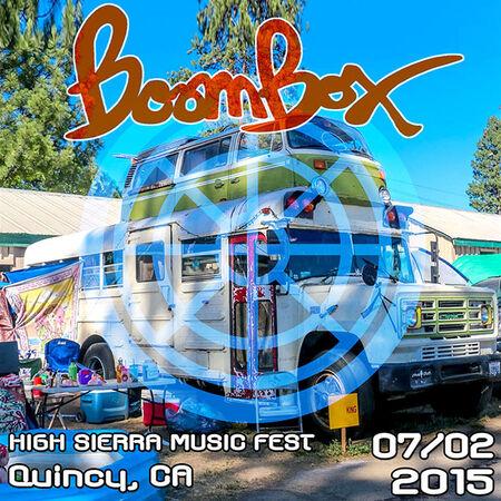 07/02/15 High Sierra Music Festival, Quincy, CA