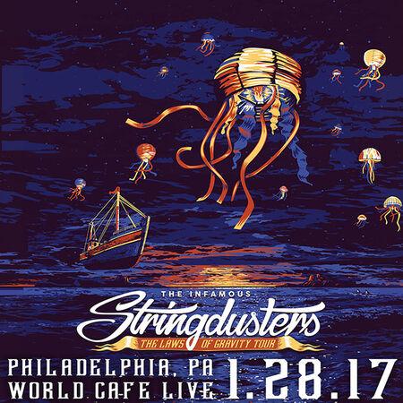 01/28/17 World Cafe Live, Philadelphia, PA