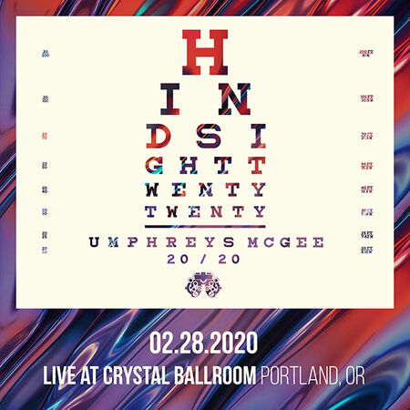 02/28/20 Crystal Ballroom, Portland, OR