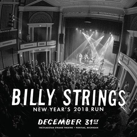 12/31/18 Flagstar Strand Theatre For The Arts , Pontiac, MI