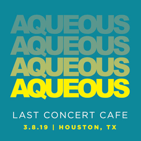 03/08/19 Last Concert Cafe, Houston, TX