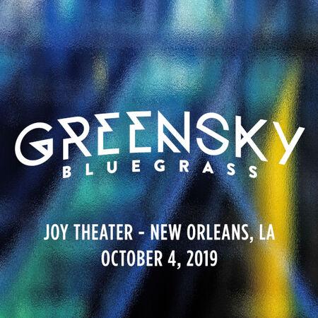 10/04/19 Joy Theater, New Orleans, LA