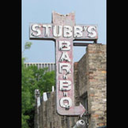 10/31/08 Stubb's BBQ, Austin, TX