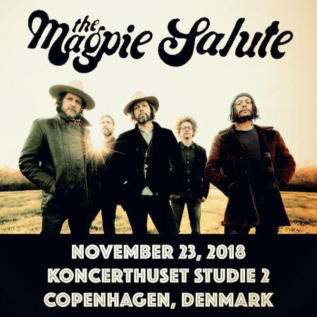 11/23/18 Koncerthuset Studio 2, Copenhagen, DO