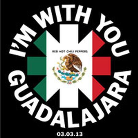 03/03/13 Arena V.F.G., Guadalajara, MX