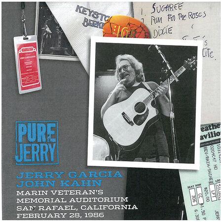 02/28/86 Pure Jerry: Marin Veteran's Memorial Auditorium, San Rafael, CA