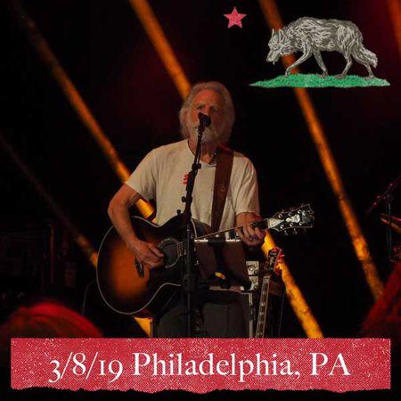 03/08/19 Metropolitan Opera House, Philadelphia, PA