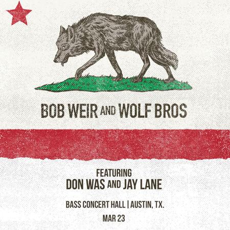 03/23/19 Bass Concert Hall, Austin, TX