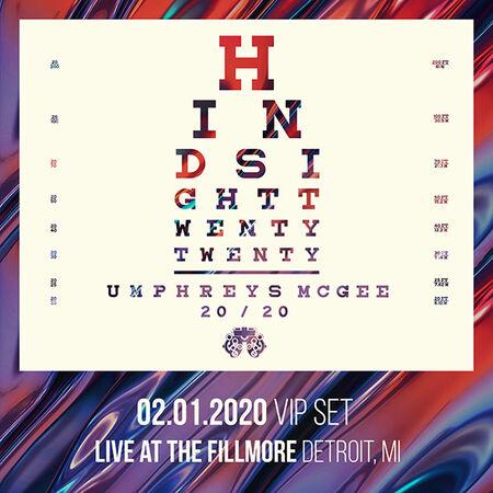 02/01/20 The Fillmore, Detroit, MI