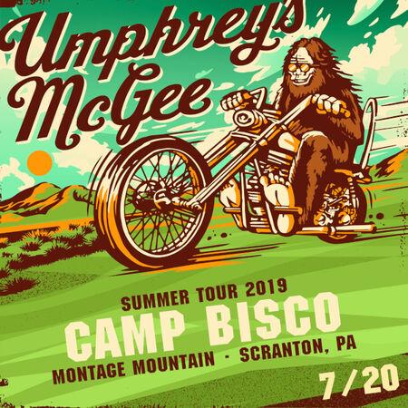07/20/19 Camp Bisco, Scranton, PA