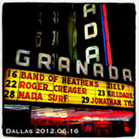 06/16/12 Granada Theater, Dallas, TX