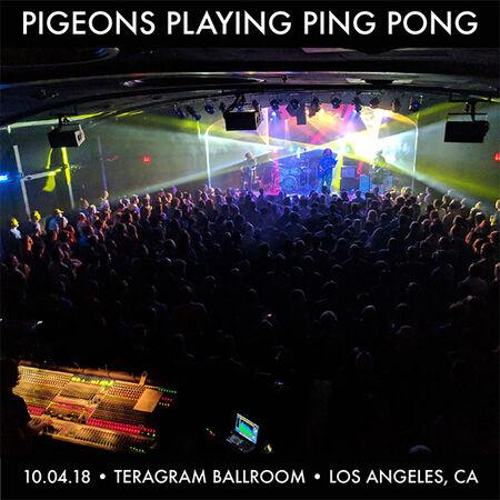 10/04/18 Teragram Ballroom, Los Angeles, CA