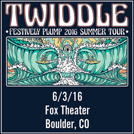 06/03/16 Fox Theatre, Boulder, CO