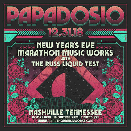 12/31/18 Marathon Music Works, Nashville, TN