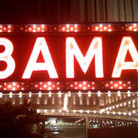 04/29/09 Bama Theatre, Tuscaloosa, AL