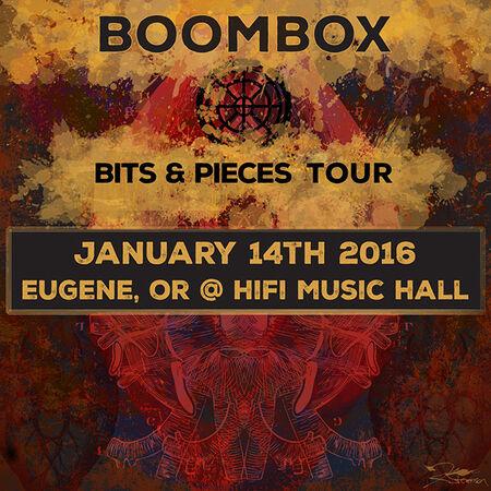 01/14/16 Hifi Music Hall, Eugene, OR