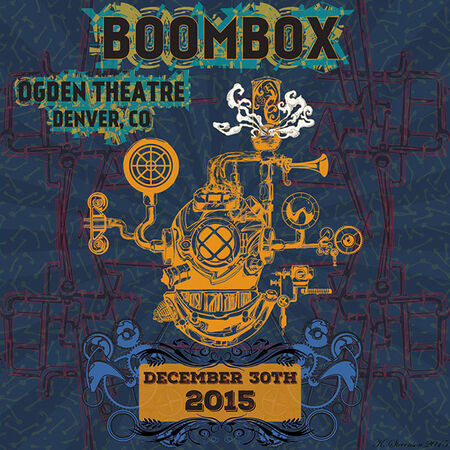 12/30/15 Ogden Theatre, Denver, CO