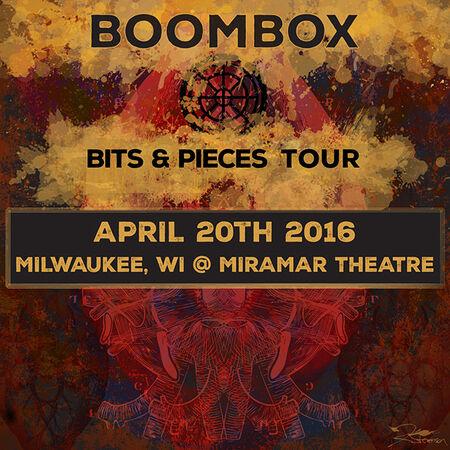 04/20/16 Miramar Theatre, Milwaukee, WI