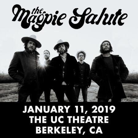01/11/19 The UC Theatre, Berkeley, CA
