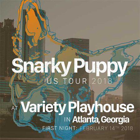 02/14/18 Variety Playhouse, Atlanta, GA