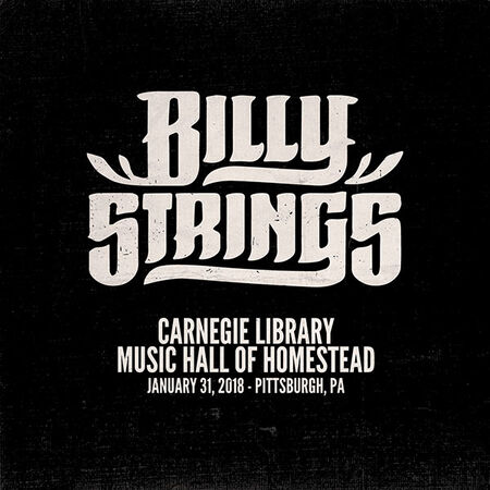 01/31/18 Carnegie Library Music Hall, Pittsburg, PA